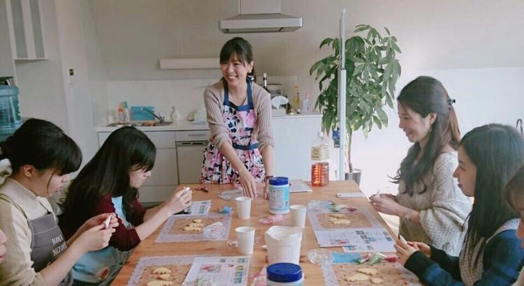 Soraniwa アイシングクッキー&フラワーケーキ教室