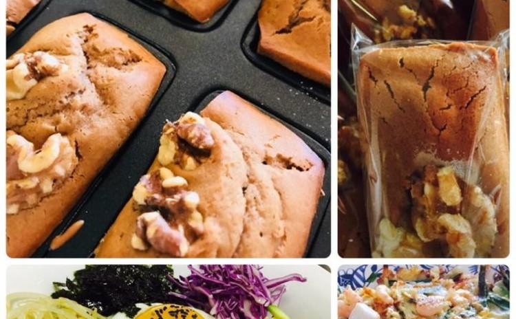 人気👍餅米ハニーパン찹쌀꿀빵(韓国料理)餅米粉100%使用、お土産あり)오색비빔밥ビビンバ