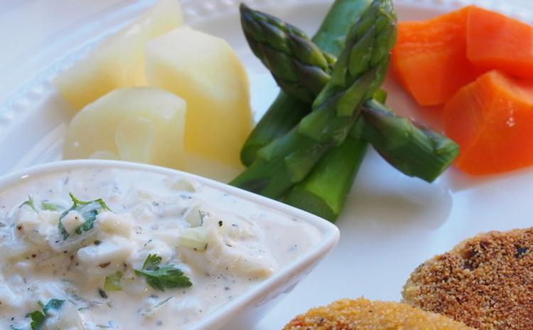 レムラードソース&温野菜
