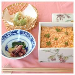春待ち和食♫海老おぼろとフキのちらし寿司♫お寿司の基本〜アレンジまで