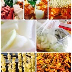ブデチゲ、ドンチミと干し大根(韓国料理)お土産3kg