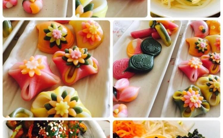 切餅(ゾルピョン)(韓国料理)100%米粉使用、お土産あり