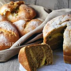 【ランチ付】春到来💖ハード系のアリコヴェールとほうじ茶のスイーツパン