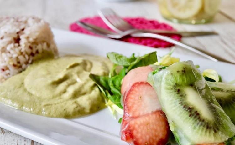 春の手作り酵素-フルーツ生春巻き作りと発酵食体験