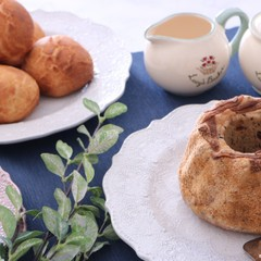 元パン職人に学ぶ!ごぼうきな粉ごまブレッド&桜かおるダッチブレッド