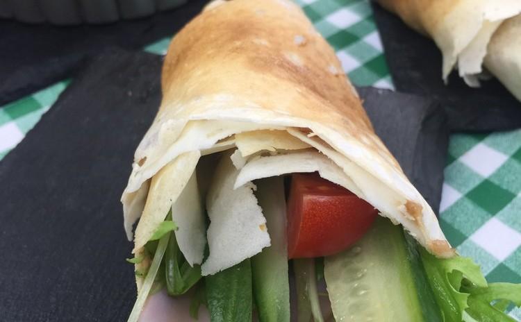 米粉のクレープサラダ