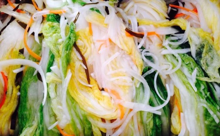白菜白キムチ🌺백김치