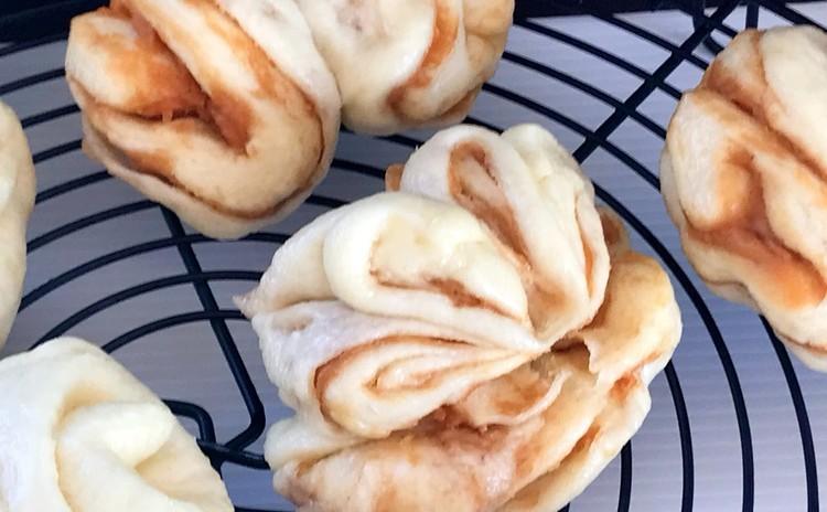 ピーナッツバター花巻