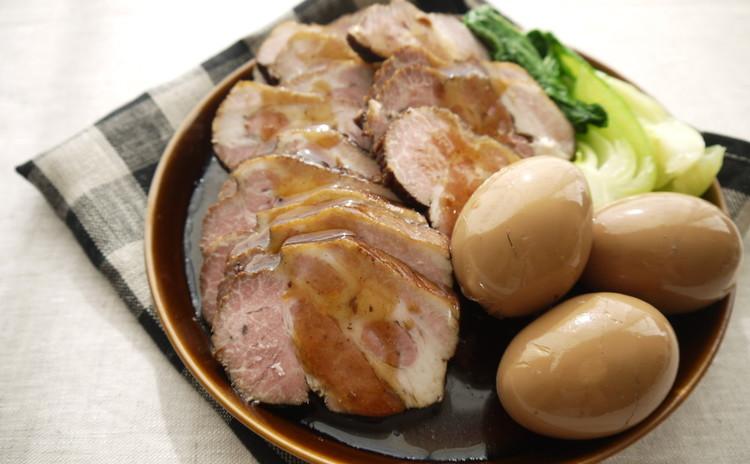 豚肩ロースで作る絶品煮豚&味卵
