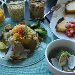 春を感じる献立 手作りちらし寿司の素&手軽に作る鯛の昆布締め桜風味