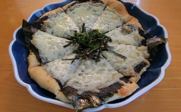 ホシノ丹沢天然酵母を使ったピザ生地で作る和風ピザ3種とキーマカレーピザ