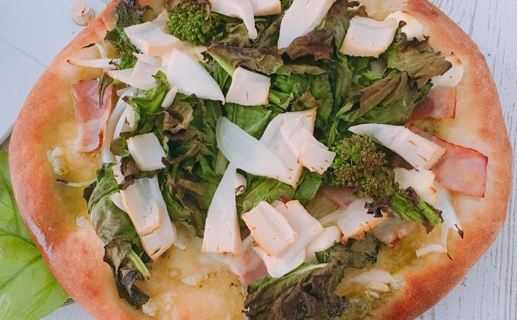 春野菜 大豆粉ピッツア