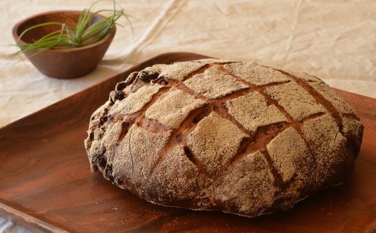 自家製天然酵母ルヴァン種 赤ワイン入り パン・オ・フィグ ランチ付