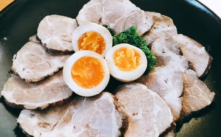 豚肉の紅茶煮・味卵