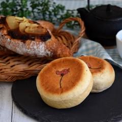 春の食材で和風パン!筍のセサミブレッド&平焼き桜あんぱん