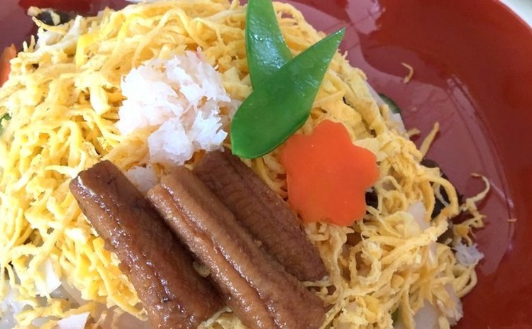 ☆春の穴子ちらし寿司