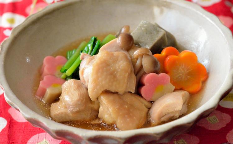 鶏肉の治部煮をメインに出汁巻き&おやきも♪ほっこり和食の献立です♪