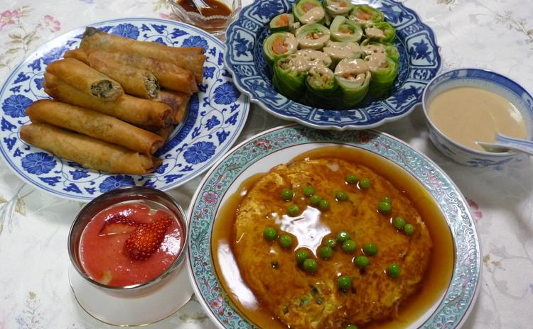 春の食材を盛り込んで家族が喜ぶ手早く作る美味しい中華