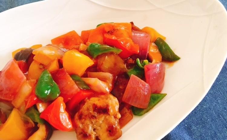 カマンベール鍋、豆腐卵丼、簡単酢豚、簡単ピクルス、サツマイモのきんぴら