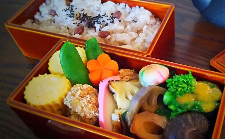和弁当レッスン!お赤飯、鱈の西京焼き 他3品 お花見にも!