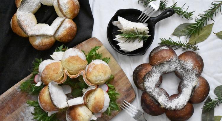 自家製酵母パン!憧れのクーロンヌ・ボルドレーズ2種&自家製ハーブツナ