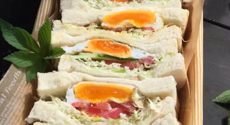 おしゃれに見えるクラブサンドイッチ