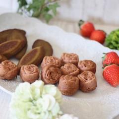 春の焼き菓子♪苺のマドレーヌと抹茶のフィナンシェ