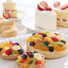 人気のお菓子3品レッスン ショートケーキ・シュークリーム・季節のタルト