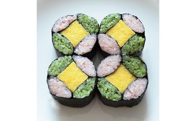お花見にもピッタリ♪デコ巻き寿司レッスン