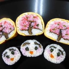春を感じる、太巻き祭りずし「満開の桜」を作ろう