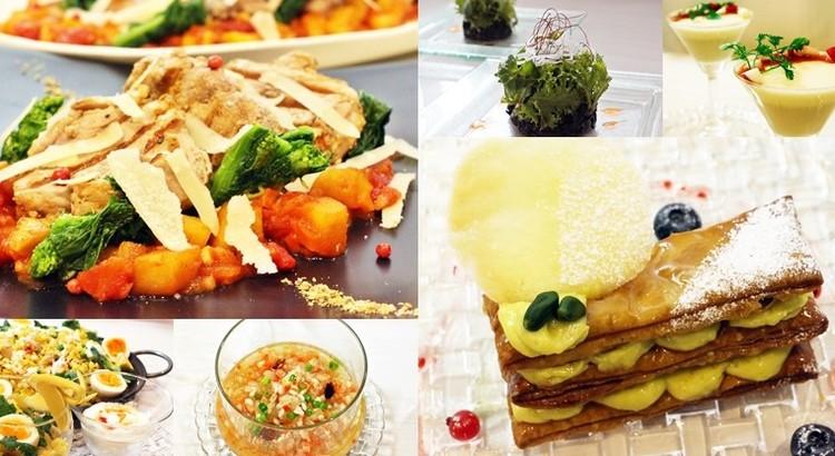 豚ヒレグリルりんごと春野菜ソース・ミルフィーユピスターシュ🌸お土産付