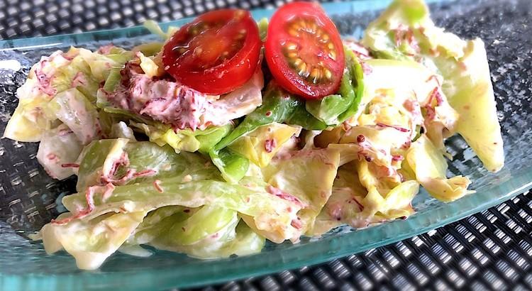 春キャベツのコンビーフサラダ