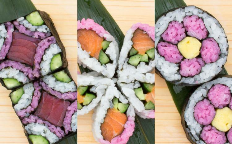 お花見をもっと華やかに! 海鮮飾り巻き寿司編 難易度 ★☆☆
