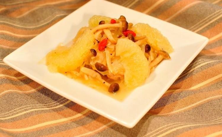 フロリダ州政府柑橘局タイアップメニュー「鶏のグレープフルーツ煮」
