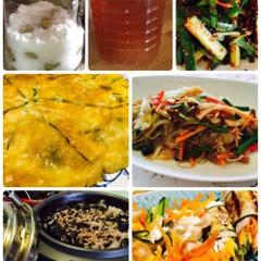梅汁とチーズチジミチャプチェ(6月限定)梅お土産2kg