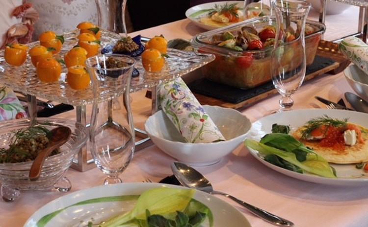 鎌倉春野菜メニュー、春の新しい出会、自慢が出来るママパーティーランチ