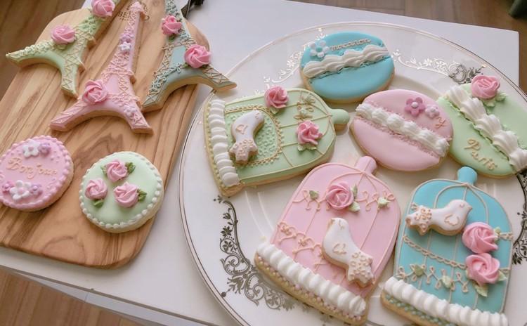 アイシングクッキーLesson1 (基礎)【パイピング特訓&時短クッキーレシピ編】