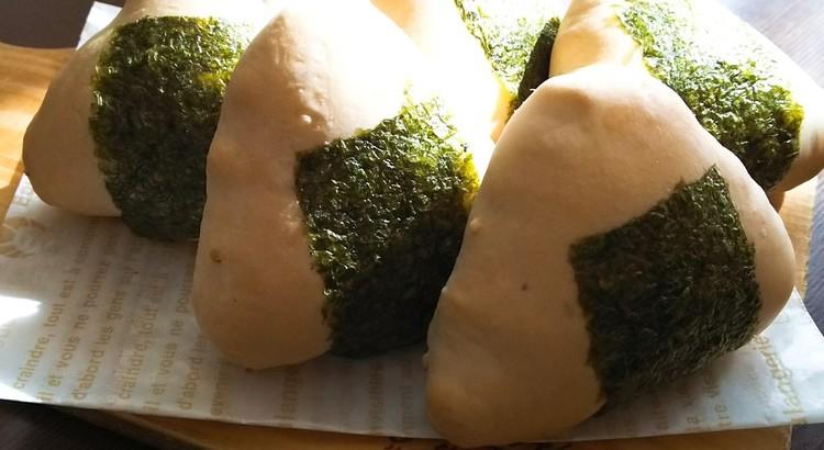 ランチ付☆白神こだま酵母で作る「おにぎりパン」