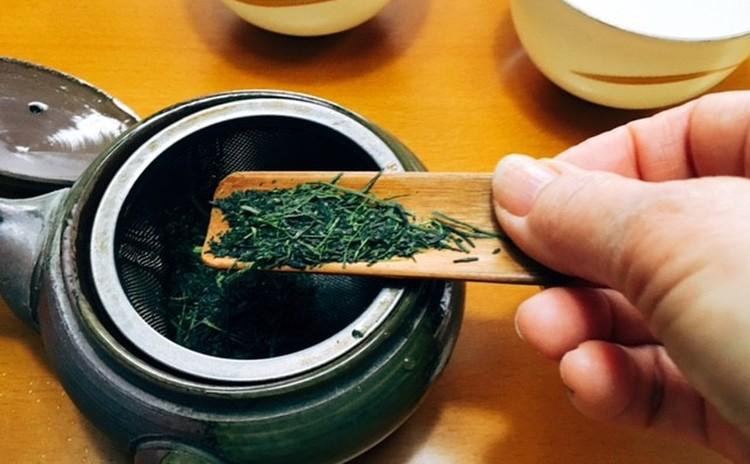 ホシノ丹沢天然酵母で作る桜クグロフ&日本茶 煎茶と玉露の飲み比べ