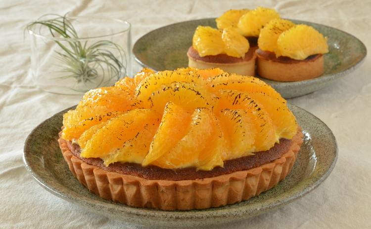 【リクエスト】オレンジと生姜のタルト