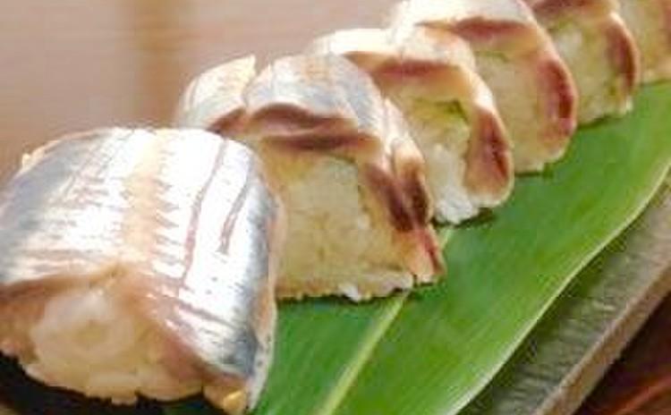 鰯の棒寿司