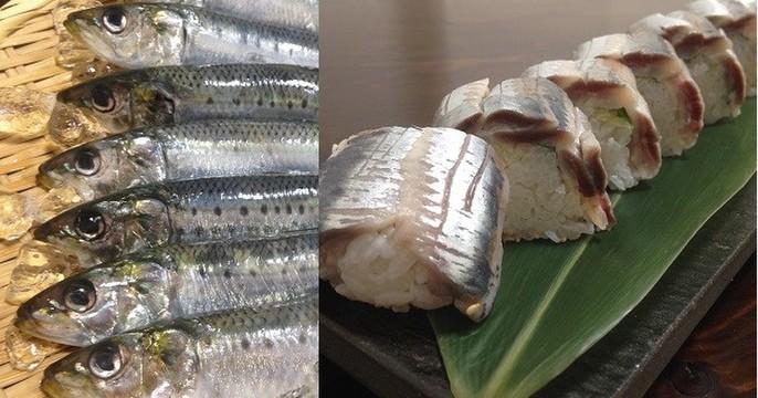 これからが旬の鰯を手開きして棒寿司に!他2品
