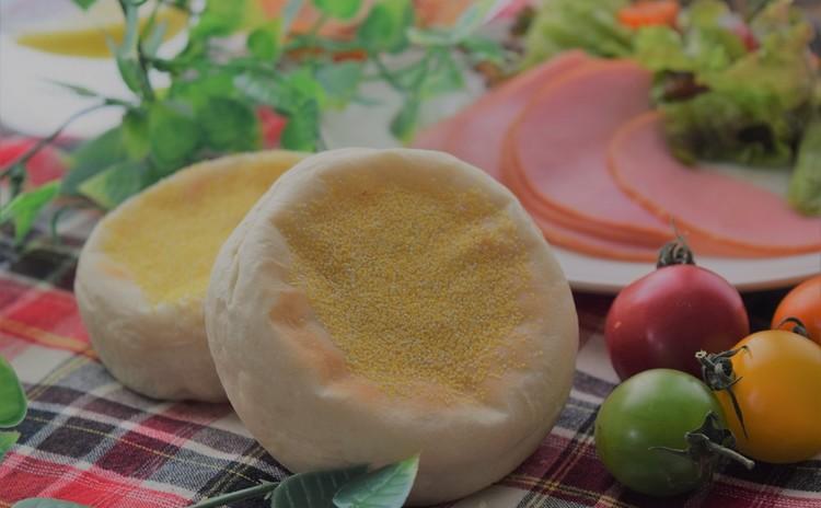 ♪爽やかイングリッシュ・マフィン&フルーツカップパン