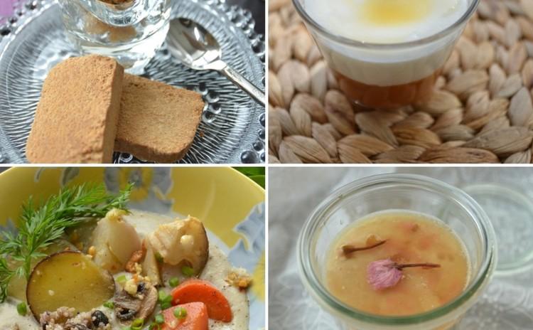 粉のお砂糖フリーなスイーツ3品&一皿で満足サツマイモと雑穀スープ