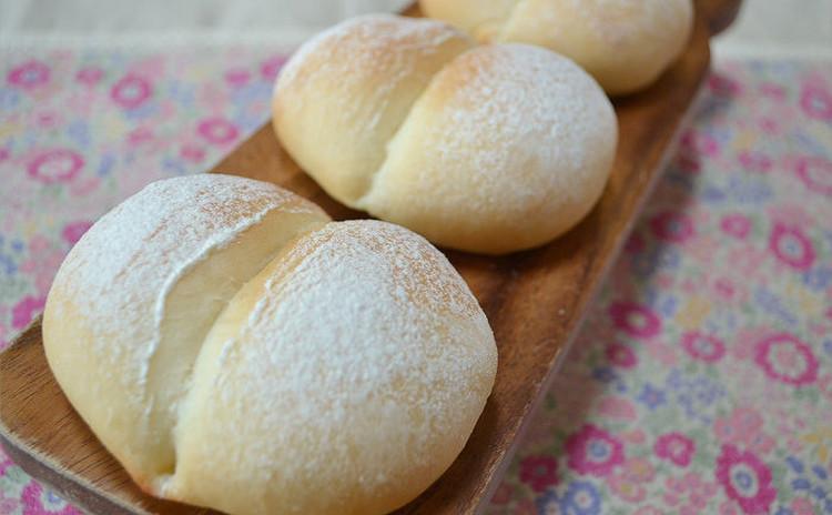 ふんわり!やさしい甘みの白パン