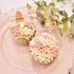 4月のカップケーキクラス