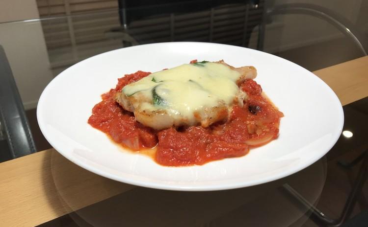 豚肉のピッツァ職人風Ver.2~スコップケーキ、スープ、サラダと共に~