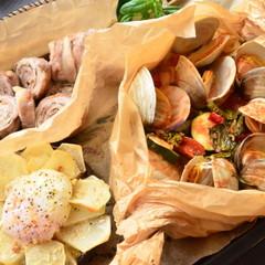 お酒に合う手間なしイタリアンオーブン料理3品+締めの逸品