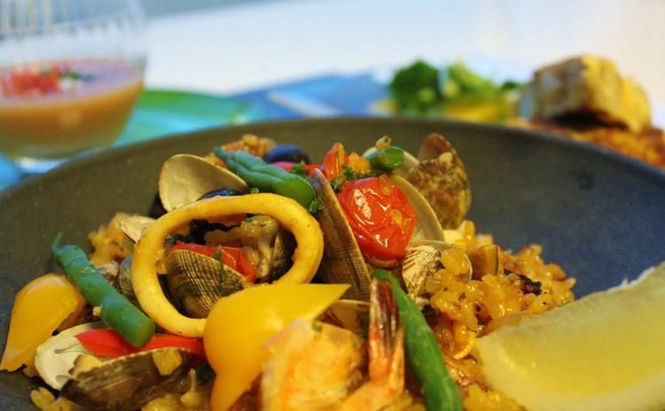 【リバイバル】絢爛パエリアで勝負料理!さわやかガスパチョ&トルティーヤをご一緒に♪
