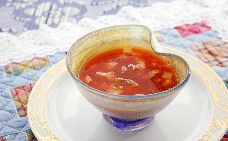 シンプルトマトスープ